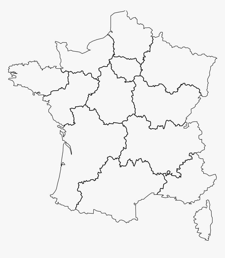 Carte France Png Carte France Et Region Png Transparent Png Kindpng