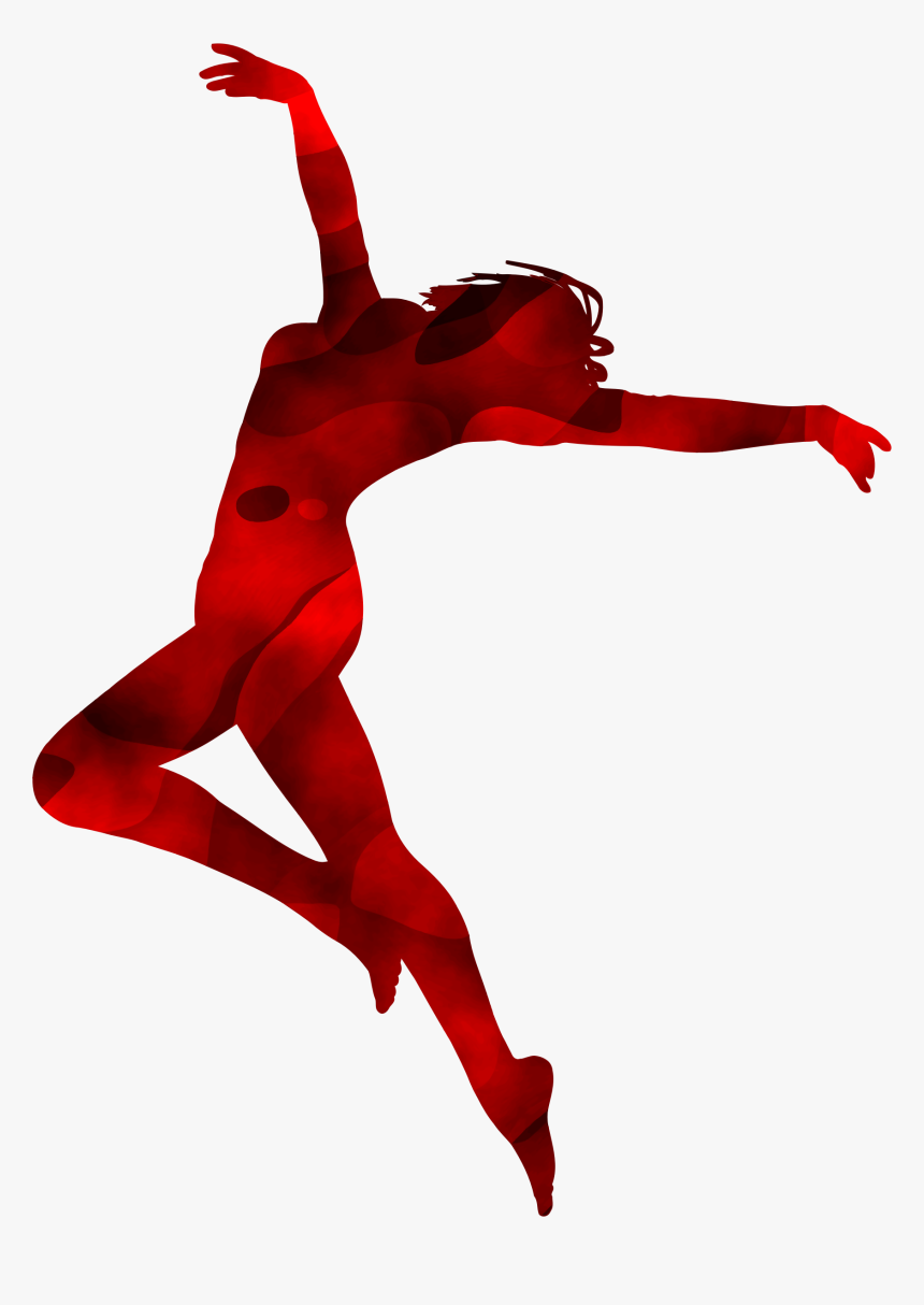 Dancer Silhouette 3 Clip Arts - Transparent Dance Silhouette Png, Png Download, Free Download