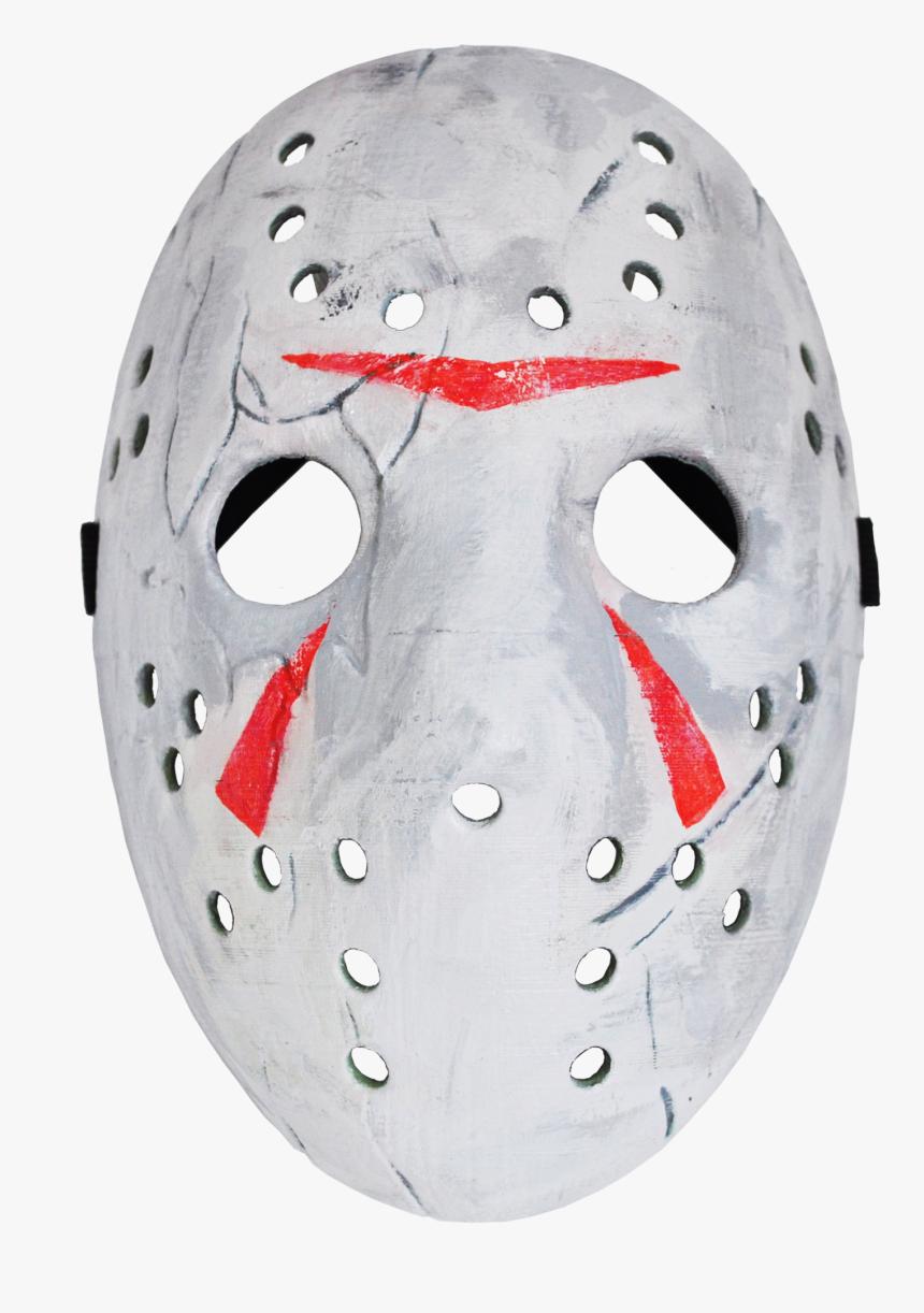 Transparent Jason Mask Clipart - Goaltender Mask, HD Png Download, Free Download