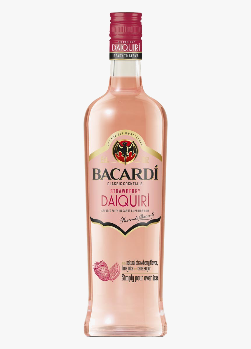 Bacardi Classic Cocktails Light Strawberry Daiquiri, HD Png Download, Free Download