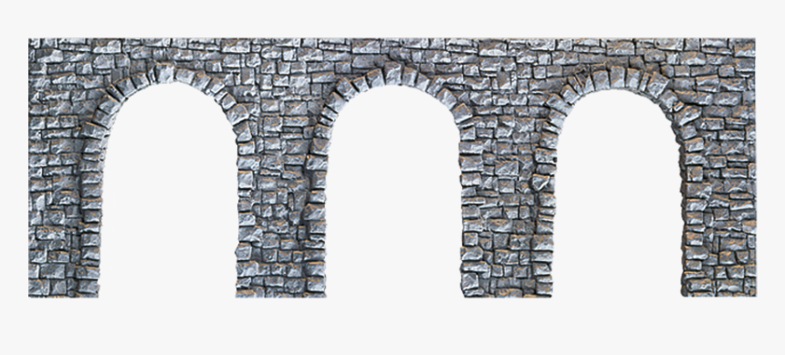 Quarrystone Arcade - Stone Wall With Arches, HD Png Download, Free Download