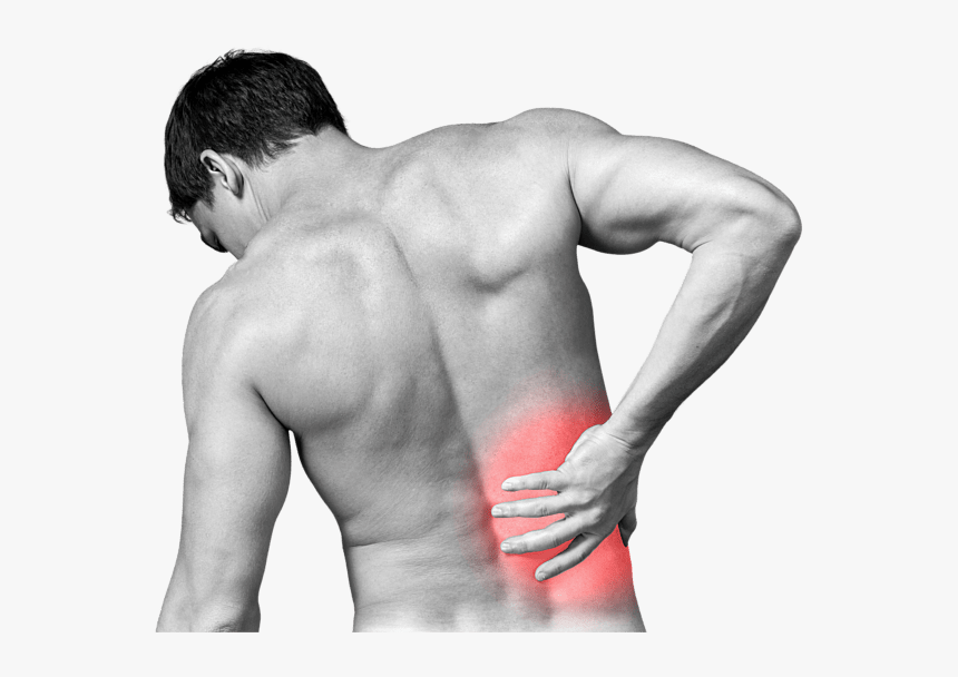 Back Pain Png Photo Lower Right Back Pain Transparent Png Kindpng