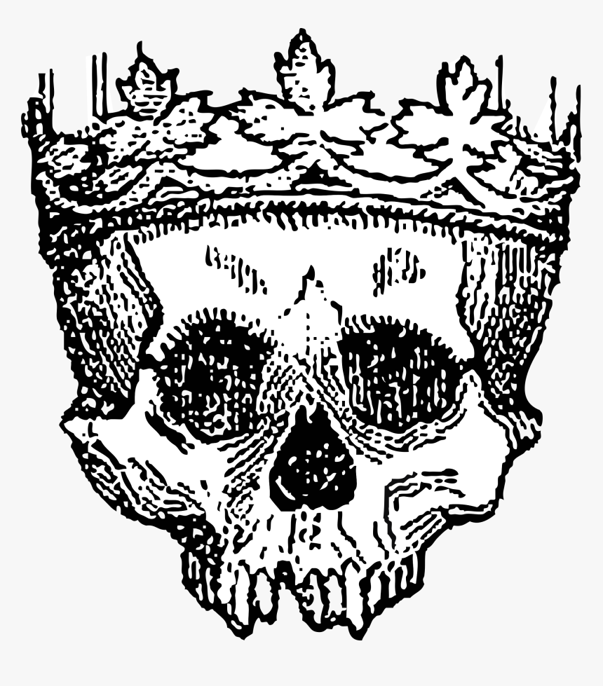 Crown, King, Skull, Royal, Dead, Powerful, Medieval, HD Png Download, Free Download