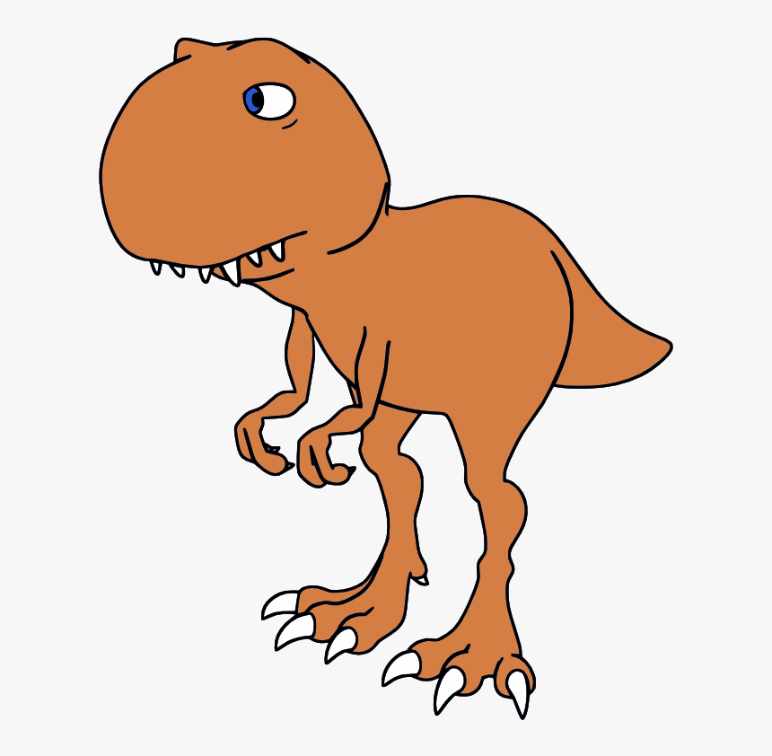 Funny Horse Clipart - Dinosaur Funny Drawing Page, HD Png Download, Free Download