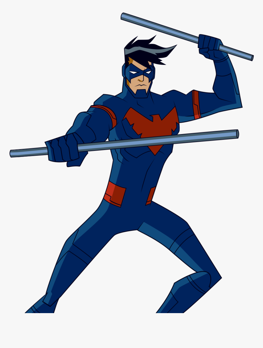 Nightwing Clipart Transparent - Batman Unlimited Nightwing, HD Png Download, Free Download