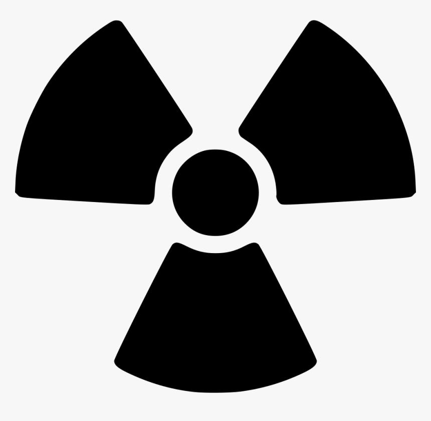 Png Nuclear Symbol - Radioactive Symbol Clip Art, Transparent Png, Free Download