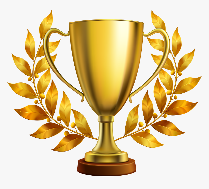 Trophy Golden Gold Cup Concacaf Hd Image Free Png Clipart - Gold Trophy Png, Transparent Png, Free Download