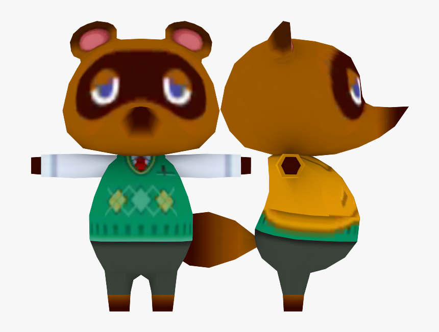 New Leaf Animal Crossing New Leaf Model Hd Png Download Kindpng
