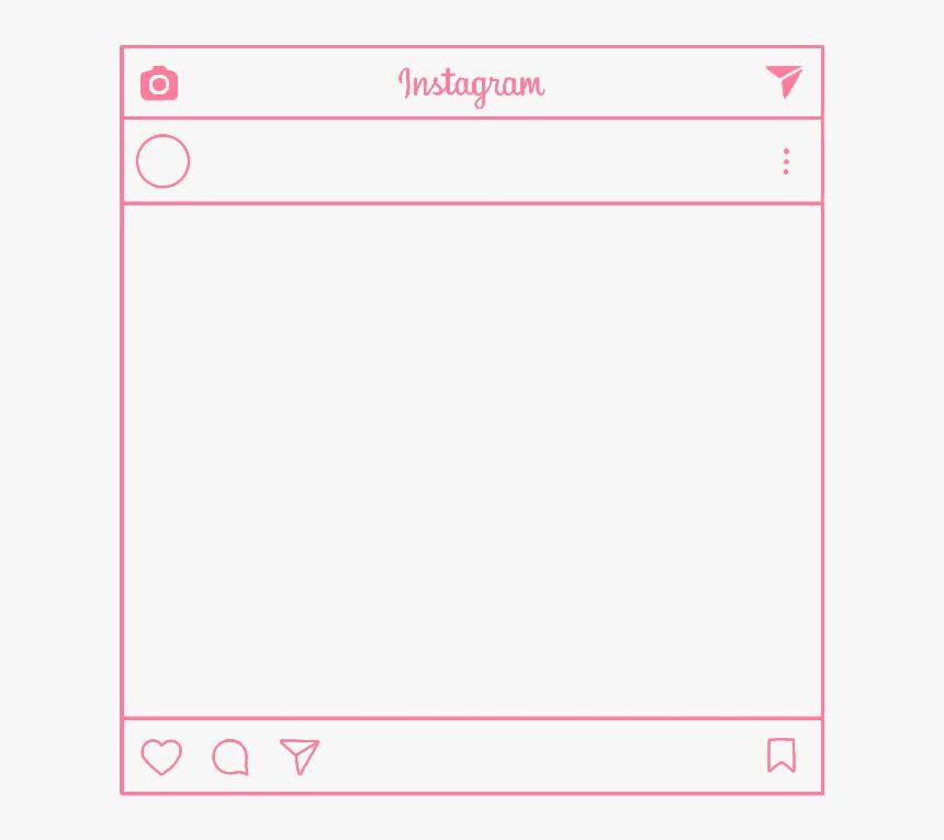 #instagram #frame #overlay #layer #mask #pink #kpop - Instagram Frame Overlay, HD Png Download, Free Download