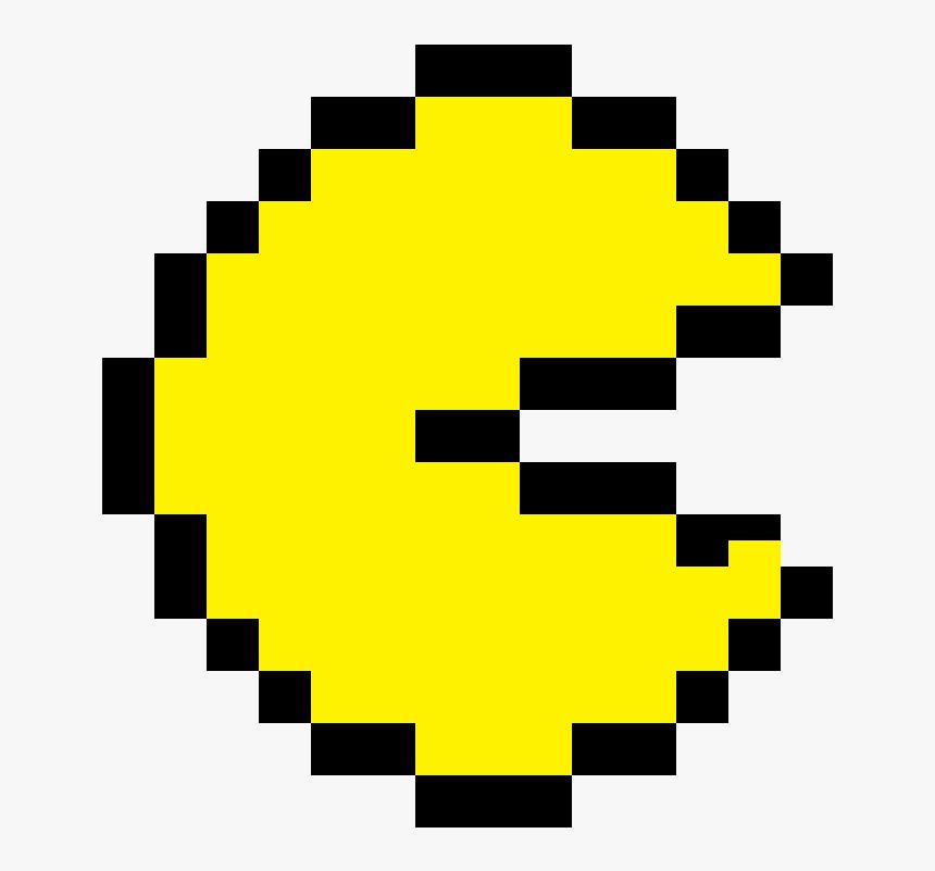Pac Man Pixel Art, HD Png Download, Free Download