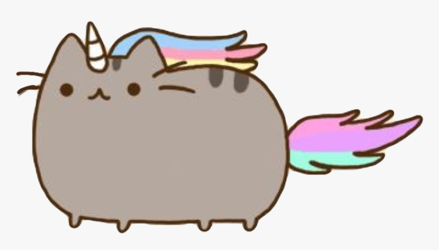 Unicorn Cat Png Clipart , Png Download - Pusheen The Cat, Transparent Png, Free Download