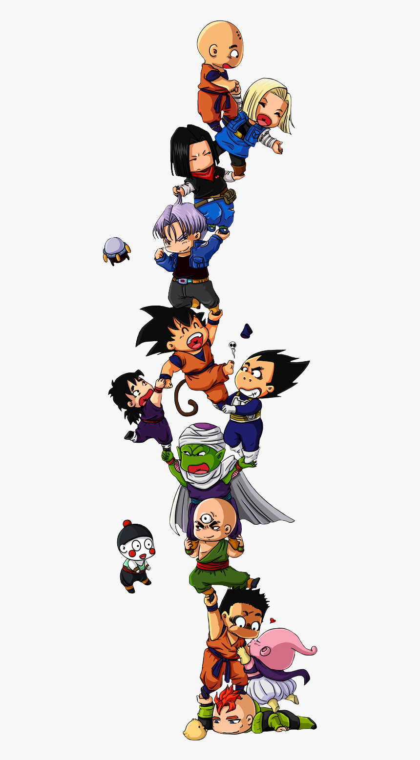 Cute Dragon Ball Characters, HD Png Download, Free Download