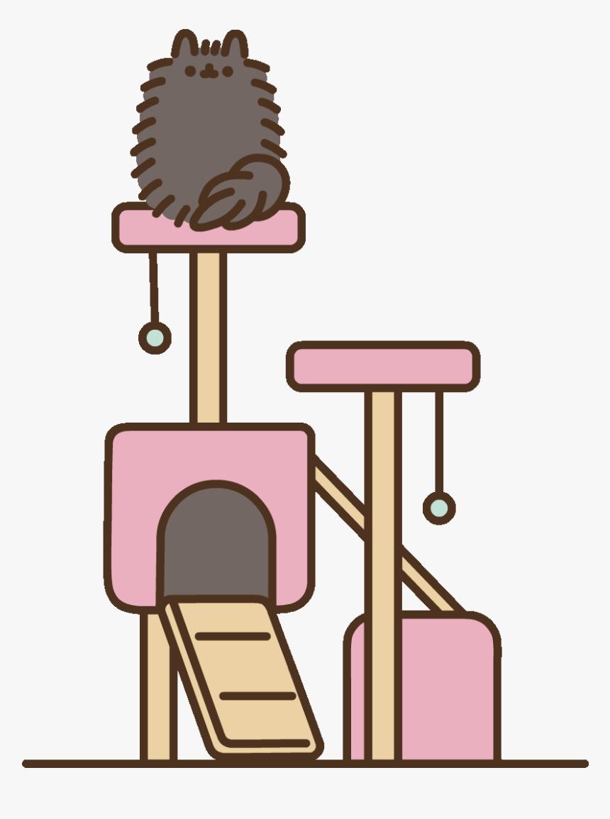 Transparent Black Cat Clip Art - Transparent Png Pusheen Cat, Png Download, Free Download