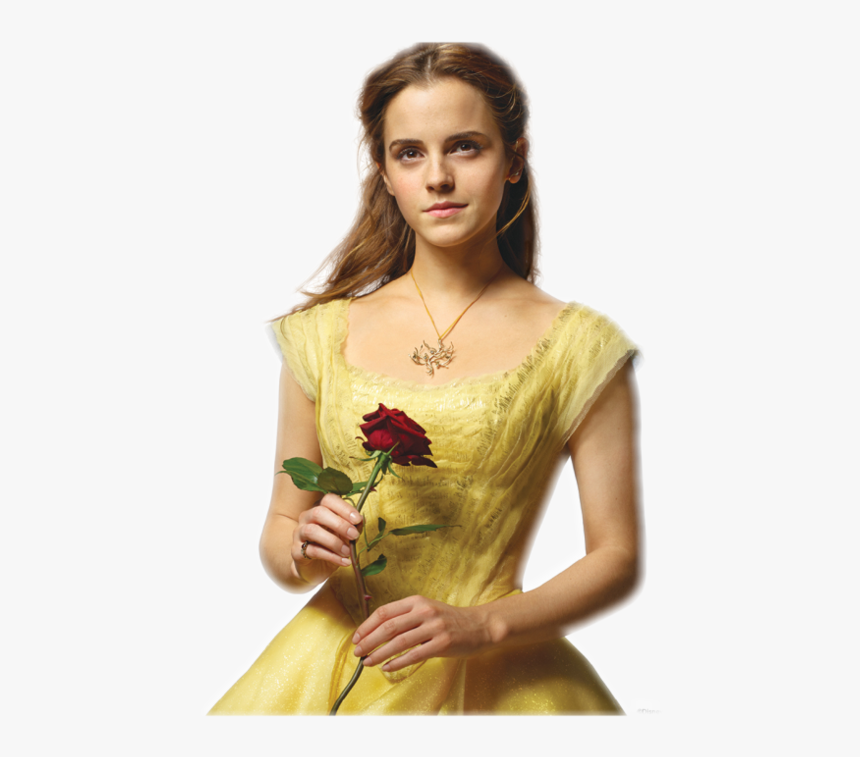 Beauty And The Beast Belle Emma Watson Drawing - Beauty And The Beast Emma Watson Posters, HD Png Download, Free Download