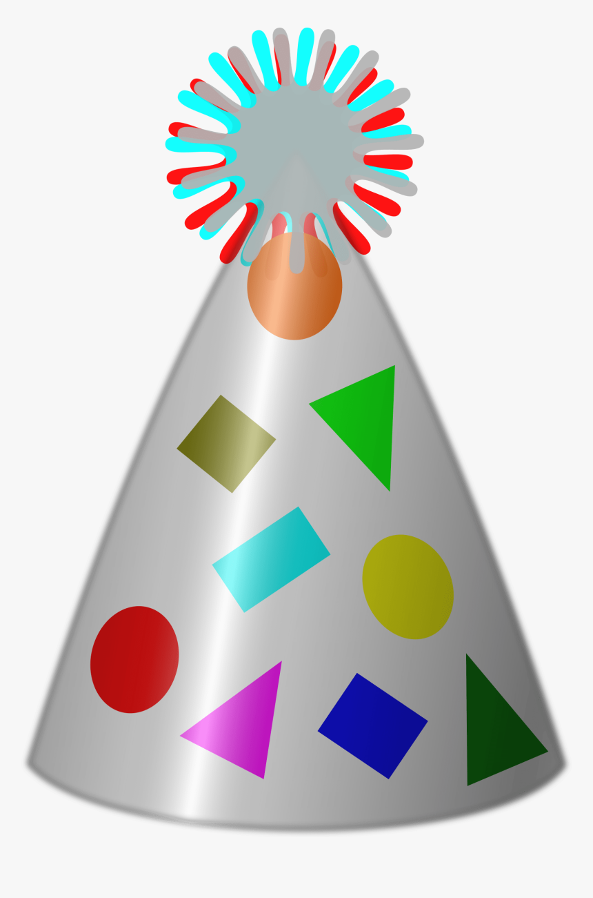 New Years Hat Png - Clipart Party Hats, Transparent Png, Free Download