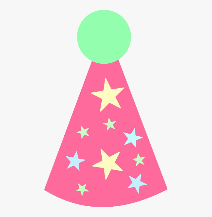 Happy Birthday Hat Cartoon, HD Png Download, Free Download