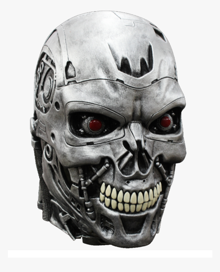 Terminator Head Png - Terminator Mask, Transparent Png, Free Download