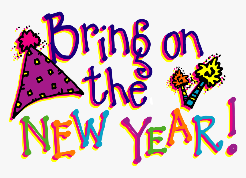 Happy New Year Clipart, HD Png Download, Free Download