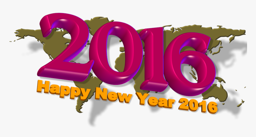 Happy New Year - Graphic Design, HD Png Download, Free Download