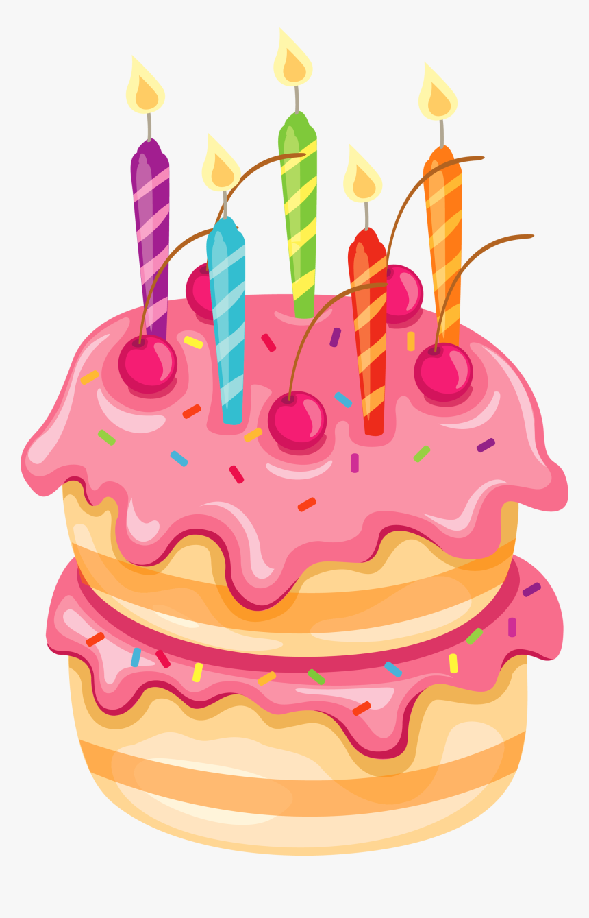 Transparent Clipart Anniversaire - Cute Cake Clipart Png, Png Download, Free Download