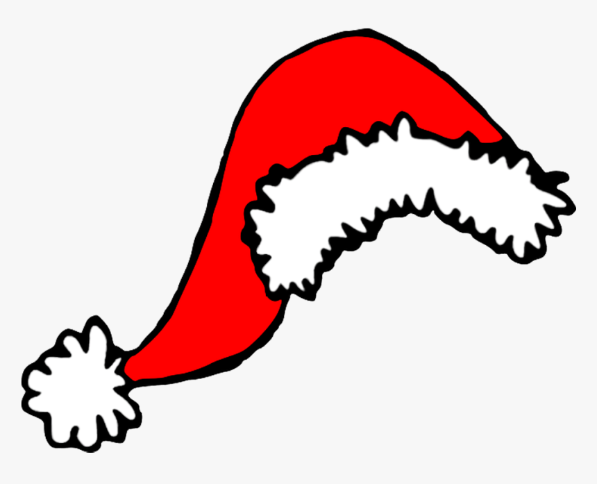 Santa Hat Png Scalable Vector Graphics Svg Clip Art - Christmas Hat Drawing Png, Transparent Png, Free Download