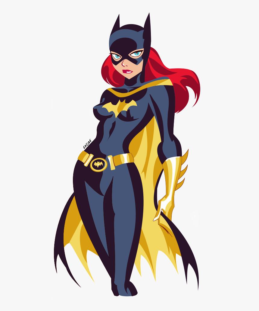 Bruce Timm Batgirl Clipart , Png Download - Batgirl Bruce Timm, Transparent Png, Free Download