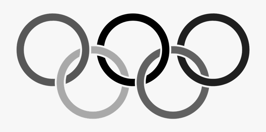 olympic rings png olympic rings black and white png transparent png kindpng olympic rings black and white png