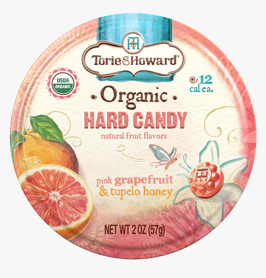 Torie And Howard Organic Hard Candy Tin, HD Png Download, Free Download