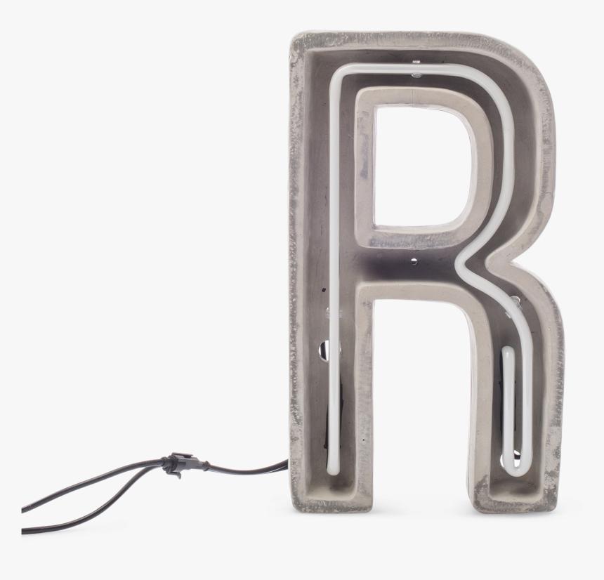 Alphacrete, Concrete Neon Light R-0 - R Neon Light Png, Transparent Png, Free Download