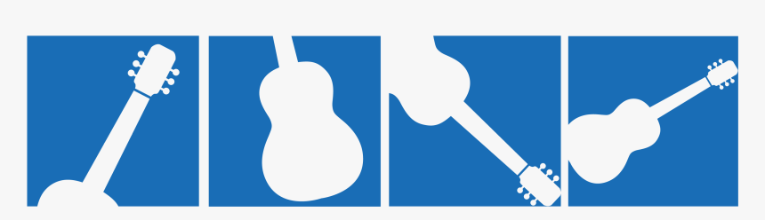Guitar Silhouette Artwork - Png Logo Guitar Silhouette, Transparent Png, Free Download