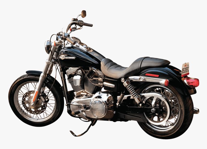 Black Harley Davidson Motorcycle Bike Png - Harley Davidson Dyna Super Glide Custom2013, Transparent Png, Free Download