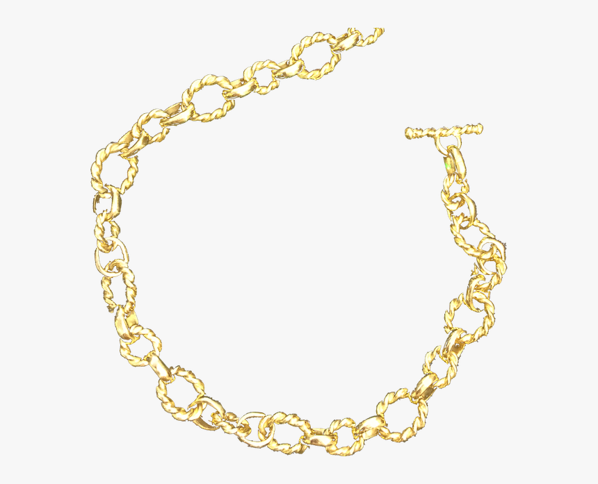 Handmade K Yellow Gold - Chain, HD Png Download, Free Download