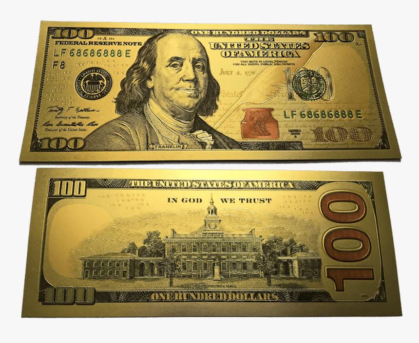 Us 100 Dollar Bill, HD Png Download, Free Download