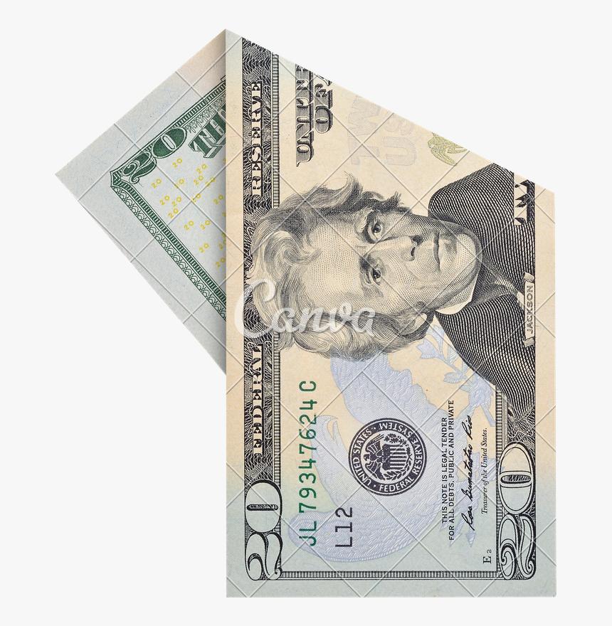 Clip Art 20 Dollar Bill Png - 20 Dollar Bill Transparent, Png Download, Free Download
