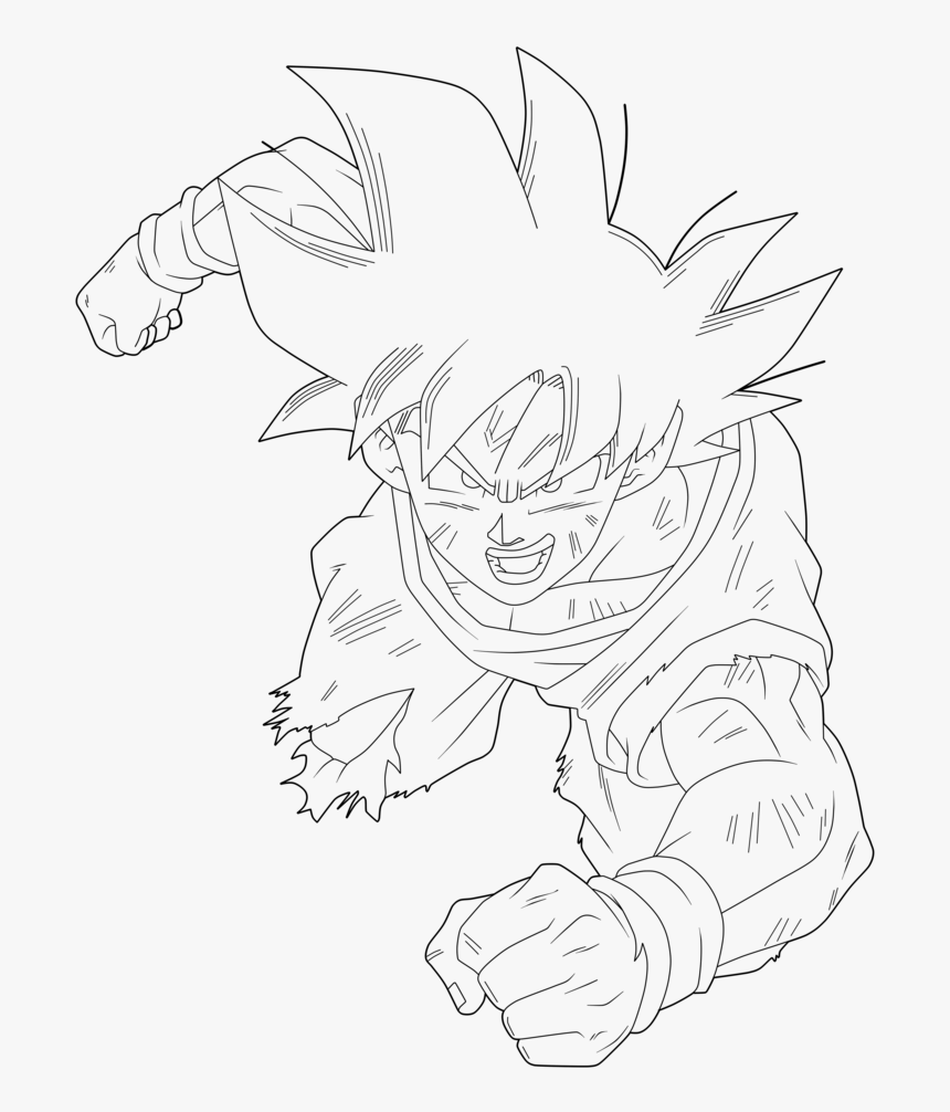 Drawing Dbz Dragon Boll - Gohan Y Goku Ending 9, HD Png Download, Free Download
