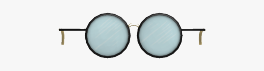 Blue Round Glasses Roblox, HD Png Download, Free Download