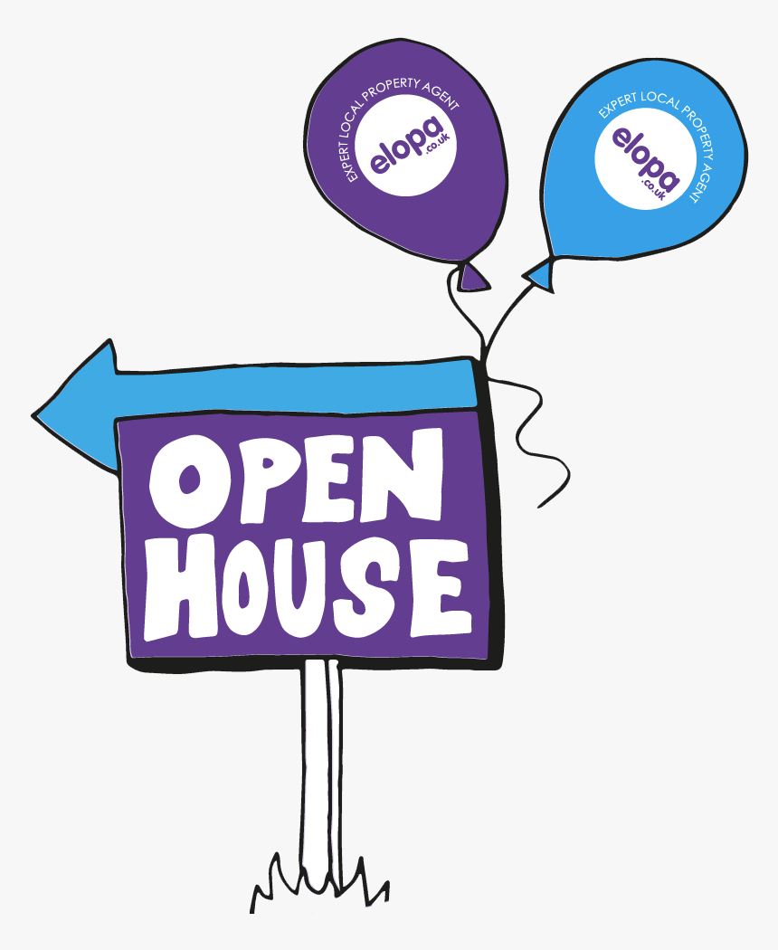 Open House Clipart , Png Download, Transparent Png, Free Download