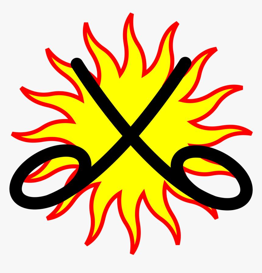 Wikimedia Crossed Swords Symbol, HD Png Download, Free Download