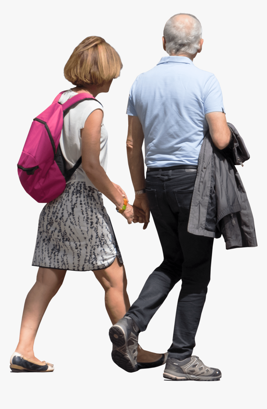 Person Walking Away Png - Couple Walk Png, Transparent Png, Free Download