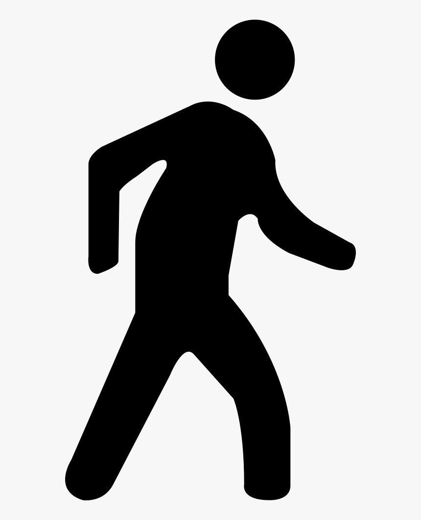Svg Png Icon Free - Walking Man Png Icon, Transparent Png, Free Download