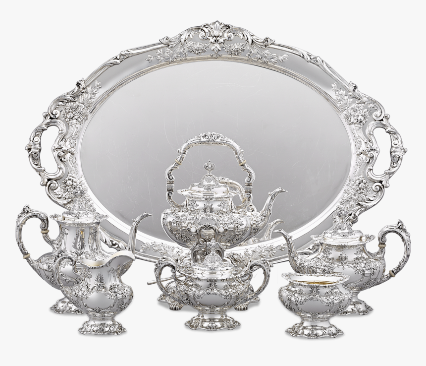 Francis I Coffee And Tea Set By Reed & Barton - Antique, HD Png Download, Free Download
