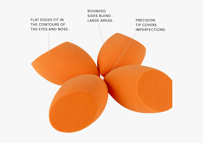 Miracle Complexion Sponges - Real Techniques Sponge Sides, HD Png Download, Free Download