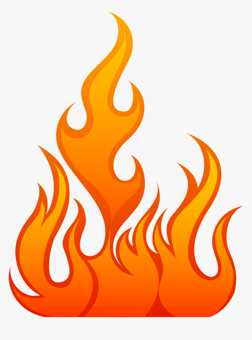 Hell Clipart Fire Sparks - Fire Flame Vector Png, Transparent Png, Free Download