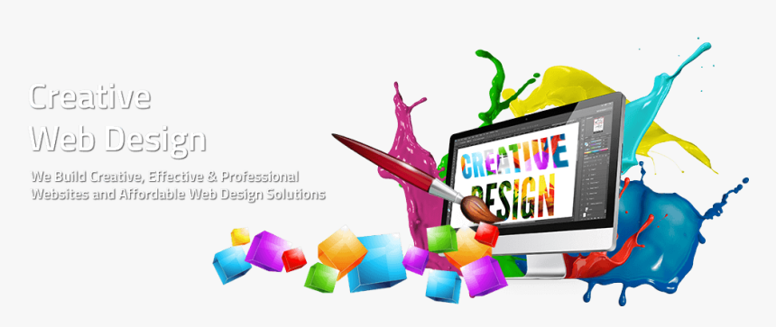 Creative Web Design Png Images - Graphic Design Courses In Mumbai, Transparent Png, Free Download