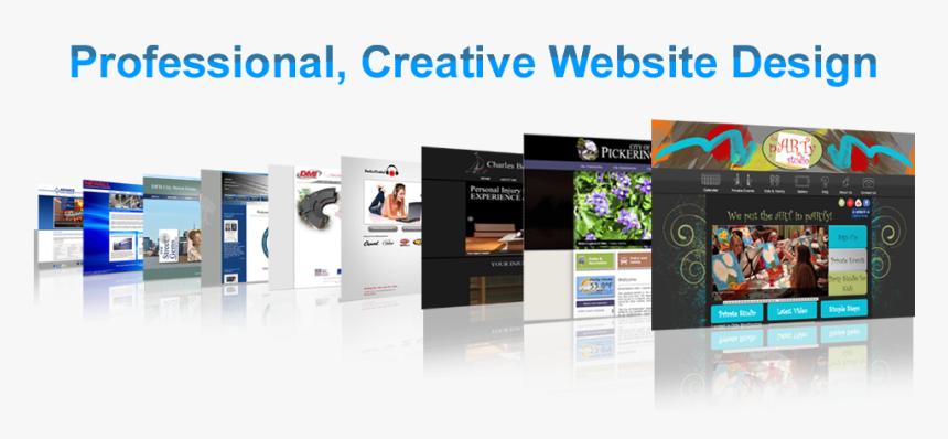 Professional, Creative Website Design - Professional Creative Website Design, HD Png Download, Free Download