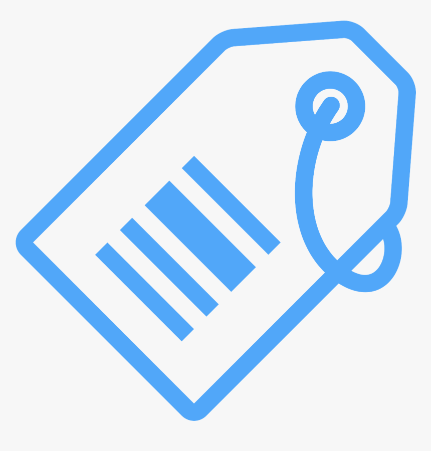Barcode Tag Icon , Png Download - Portable Network Graphics, Transparent Png, Free Download