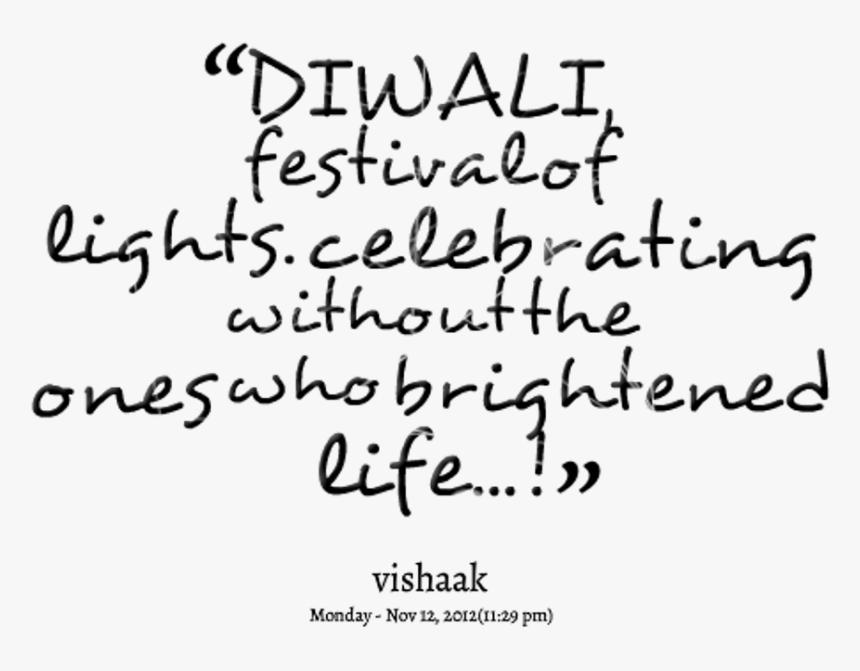 Diwali Festivals Of Lights - Calligraphy, HD Png Download, Free Download