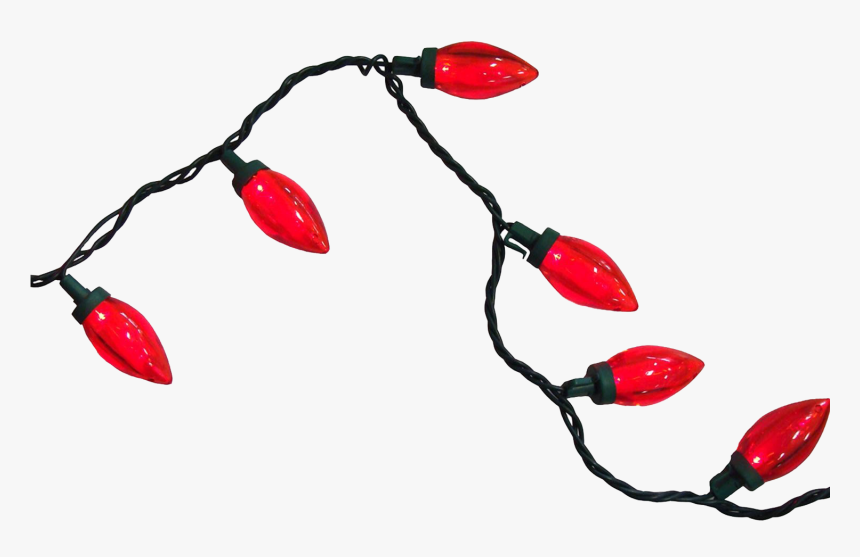 Transparent Red Christmas Lights Png, Png Download, Free Download