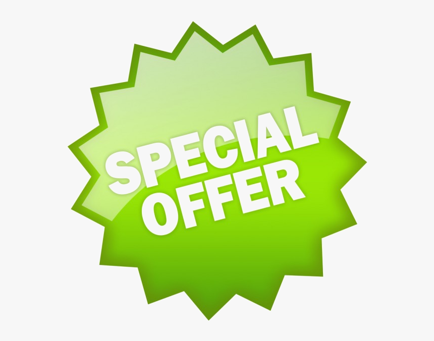 Special Offer Green, HD Png Download, Free Download