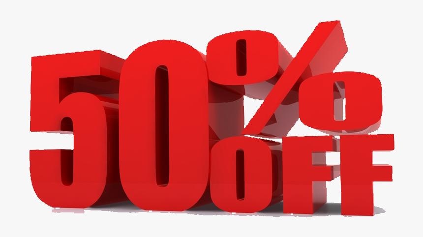 50% Off Png, Transparent Png, Free Download